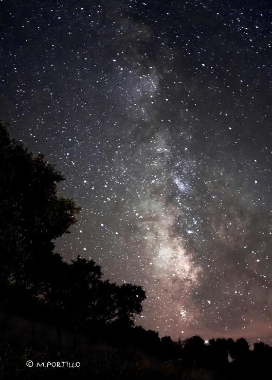 Vía Láctea en Reolid
