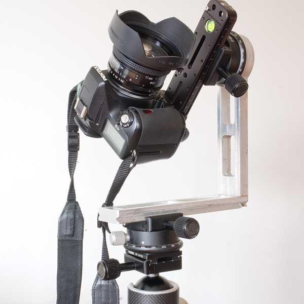 Rótula en L para fotografía panorámica