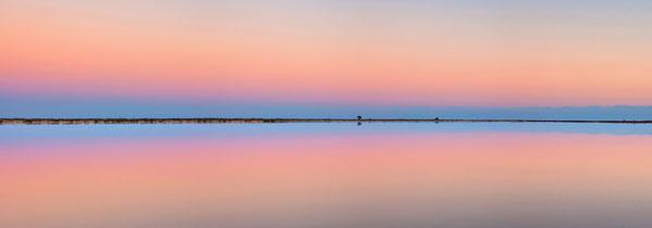 Fotografía panorámica del Mar Menor