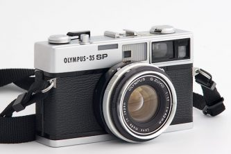 Olympus 35 SP rangefinder camera