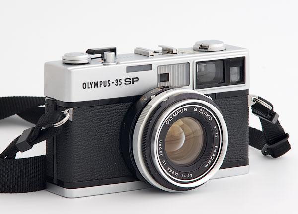 Olympus 35 SP rangefinder camera