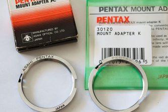 Adaptador M42 a Pentax-K