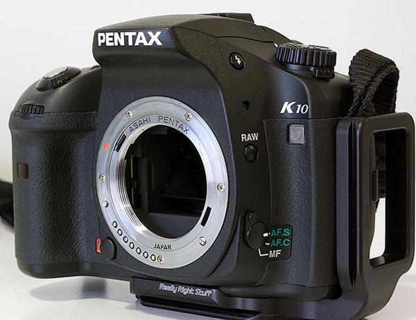 Adaptador de rosca M42 a Pentax-K