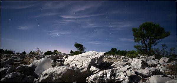 En Sierra Espuña bajo las estrellas