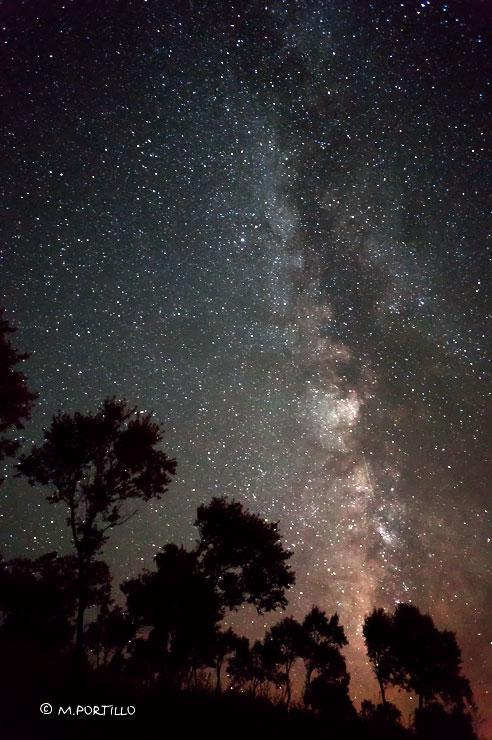 Bajo las estrellas en Reolid