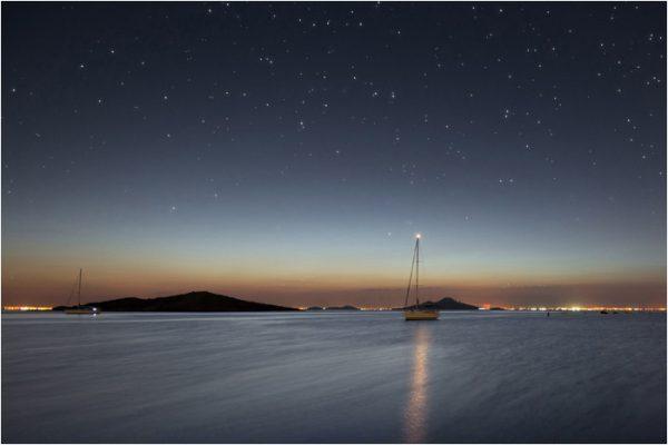 Nocturna del Mar Menor.