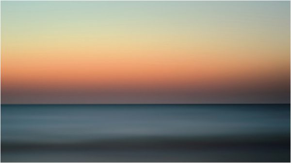 Amanecer en La Manga del Mar Menor