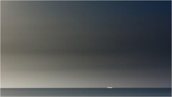 Marina nocturna en Cabo de Palos