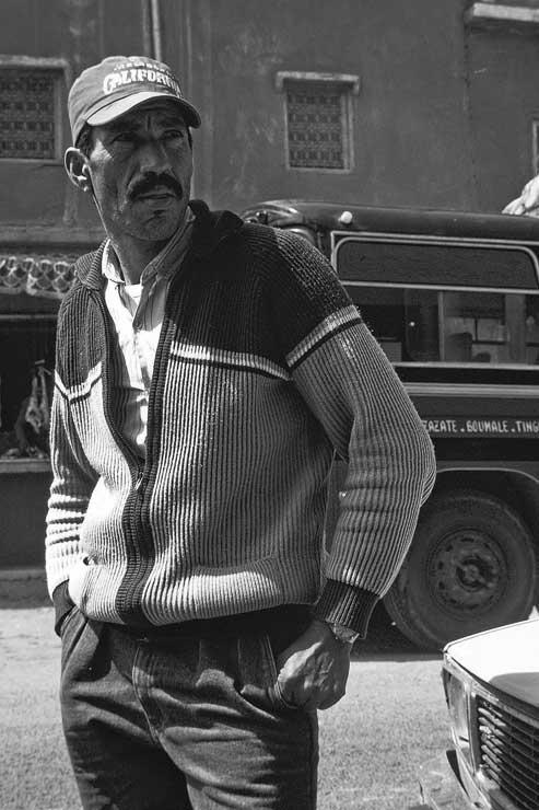 Personaje marroquí
