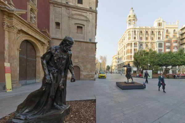 Esculturas de Rodin en Murcia