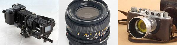 Artículos, tutoriales, cámaras y objetivos manuales