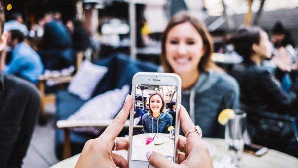 Hacer fotografías con smartphone