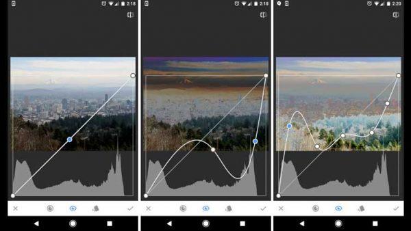Snapseed, app edición fotos para móviles